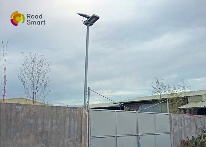 40w Led Outdoor Solar Street Lights , Solar Powered Street Lamp Long Lifespan
