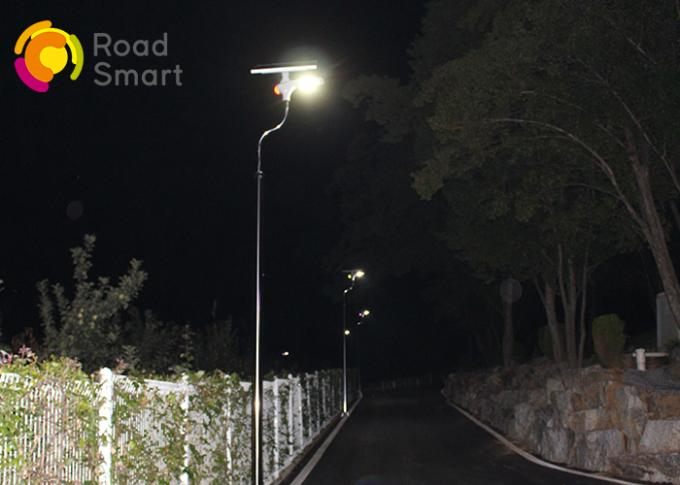 IP65 Waterproof Solar LED Street Light 3000-6500K With Microwave Motion Sensor