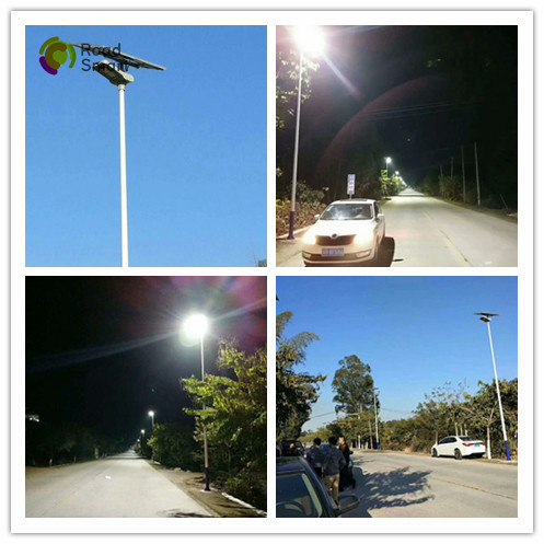 Outdoor High Power Solar Street Light 50W / 18V With 3 Years Warranty