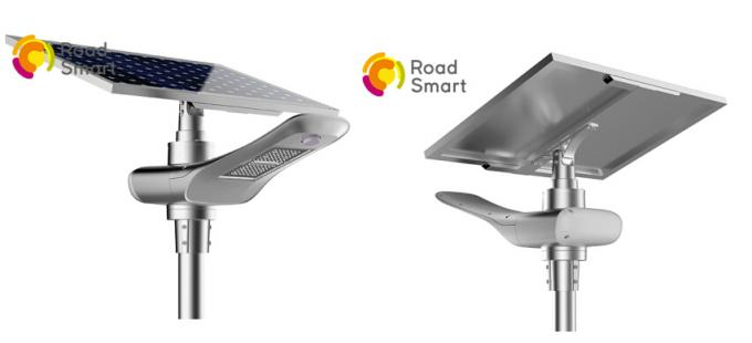 40 W Integrated Led Street Light With Solar Panel 50000hrs Lifespan