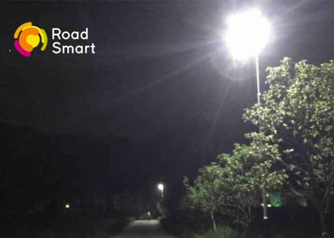 50W Solar Powered Street Lights Residential 2260lm With 50000hrs Lifespan