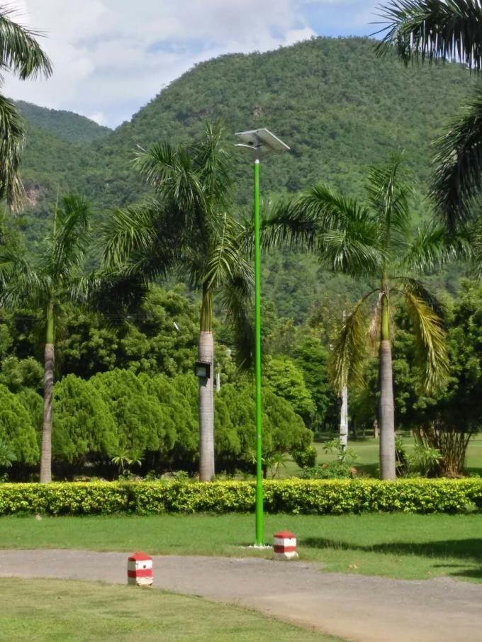All In One Integrated Solar Street Light System For Roadway , 5-6m Height