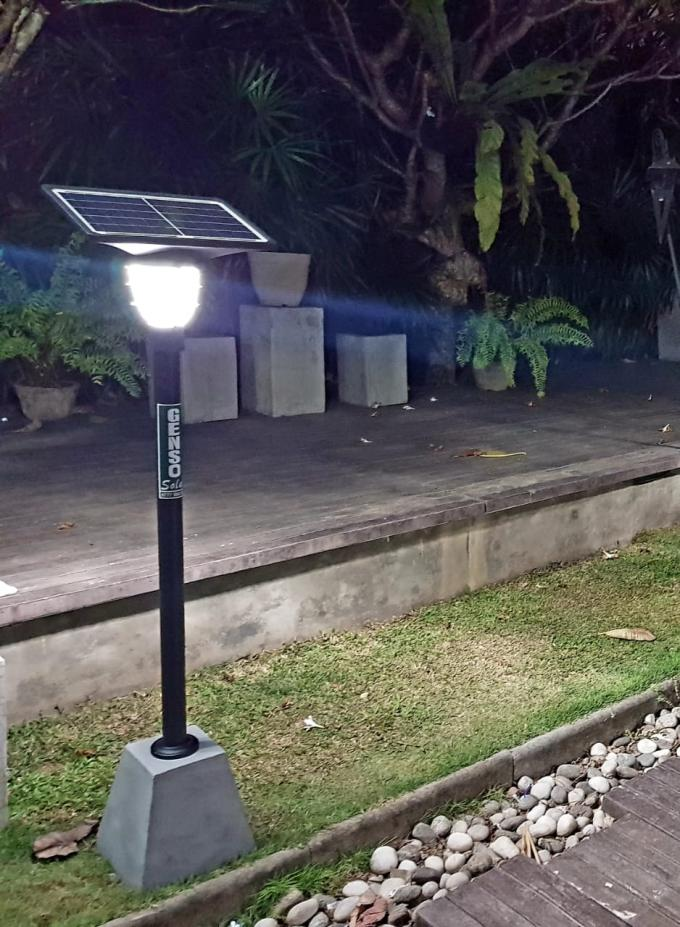 10 Watt Panel Solar Powered Garden Street Lamps Outdoor Lighting 3000-6000K