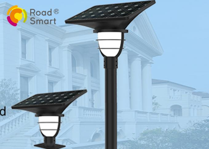 3000K-6500K Solar Powered Led Yard Lights Mono Crystalline Silicon 2000 Times Charge Cycle