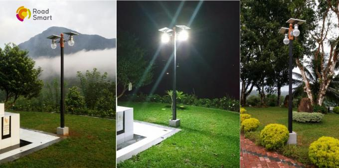 All In One Outdoor Solar Street Lights 12w 3-6 Meters Mounting Height 3 Years Warranty