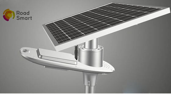 China Energy Saving 10W 1800lm Integrated Solar Street Light With Remote Controller supplier