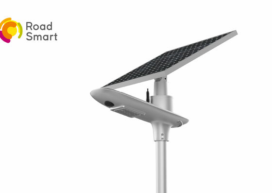 China All In One Solar Powered Garden Street Lamps / Led Outdoor Area Street Lighting supplier