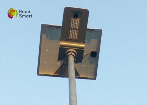 China 50w Led Solar Street Lights 160lm/W For Urban Road , 8-10m Height supplier