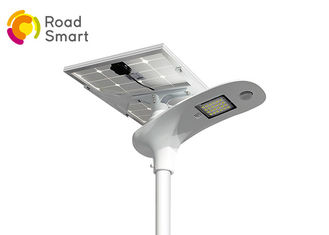 China Outdoor Integrated Solar Powered Led Parking Lot Lights 15W 12V With Lithium Battery supplier