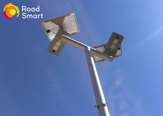 China High Power Integrated Solar Street Light With 360 Degree Panel Adjustble supplier