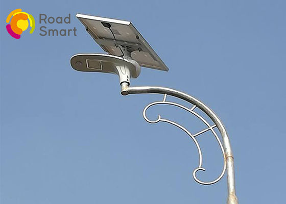 China Energy Saving Outdoor Solar Street Lights With Panel 210lm/W 3000-6500K supplier