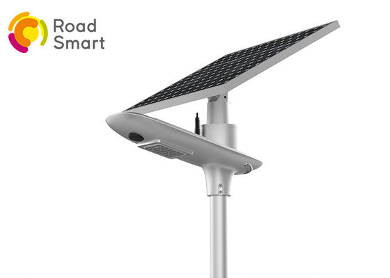 China 10w 1800lm Led Street Light With Solar Panel , Solar Powered Road Lights supplier