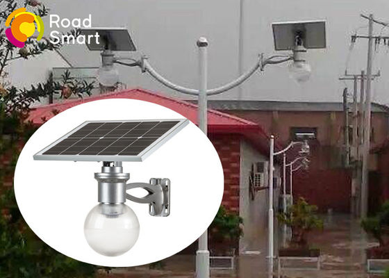 China High Efficiency Solar Powered Outdoor Wall Lights 600-720lm With Mono Panel supplier