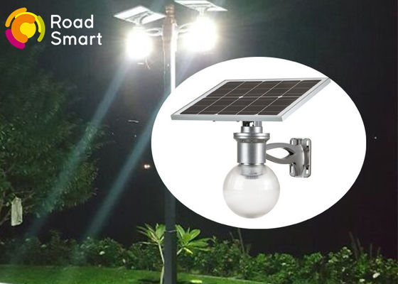 China Integrated Solar LED Wall Light With Lithium Battery , 50000hrs Lifespan supplier
