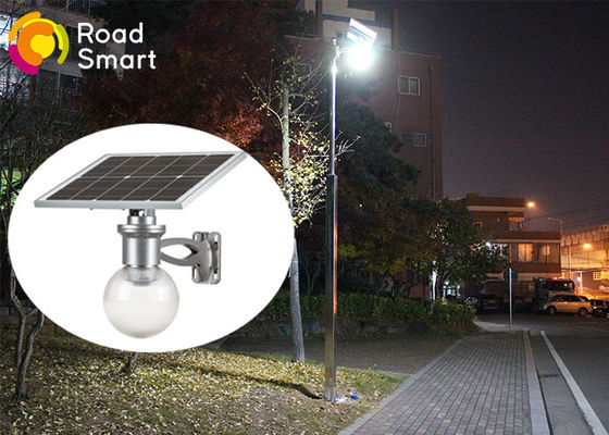 China High Luminance IP65 Solar Panel Yard Lights 160lm/W With Motion Sensor supplier