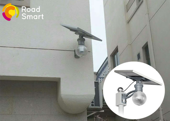 China Wall Mounted 4000K 12w Solar Street Light With Lithium Ion Battery For Garden Courtyard supplier