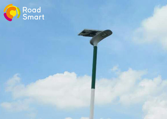 China Residential Solar Powered Pole Lights Motion Sensor 2260lm Architectural Style supplier