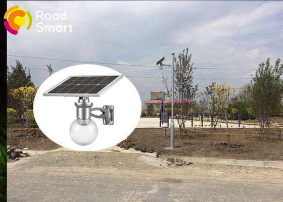 China High Tech Integrated Solar LED Garden Lights 12W CE Rohs Approval supplier