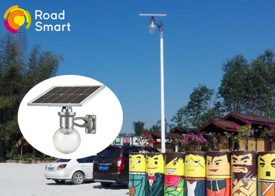 China High Efficiency Outdoor Solar Street Lights With 600-1800lm Bridgelux Led Chip supplier