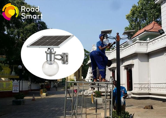 China Waterproof Integrated Outdoor Solar Street Lamps 160lm/W For Garden supplier