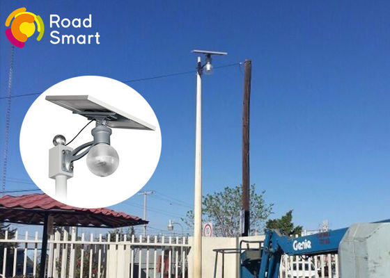 China 160lm/W Integrated Solar Powered Parking Lot Lights 3000K-6500K CCT supplier