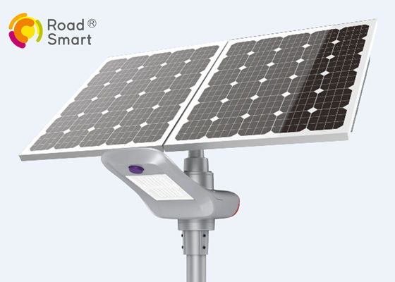 China High Efficiency Solar Street Lamp With Mono LED Panel Supporting Battery Charge At 0v supplier
