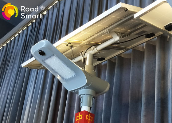 China High Lumen Solar Panel Street Lamps  Bridgelux Chip With  80mm Top Diameter Of Pole supplier