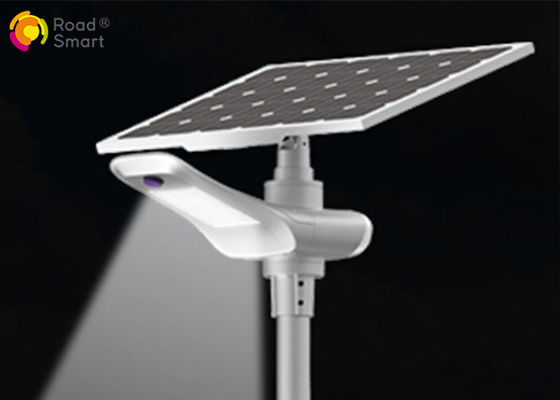 China LiFePO4 Battery Integrated Solar Street Light , 100w / 120w Solar Powered Outdoor Lights supplier