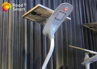 China Road Solar Powered LED Street Lights With Die - Cast Aluminum Lamp Head supplier