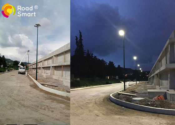 China 30 Watt Solar Powered Led Pole Lights , Solar Panel Led Lighting System IP65 supplier