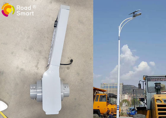 China All In Two Type 15W Smart Solar Street Light 160lm/w Bridgelux Chip 3 Years Warranty supplier