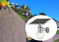 China Garden Solar Powered Led Parking Lot Lights Microwave Motion Sensor factory