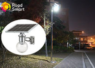 China High Luminance IP65 Solar Panel Yard Lights 160lm/W With Motion Sensor factory