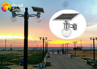China Outdoor All In One Solar LED Garden Lights IP65 8W 12w With LiFePO4 Battery factory