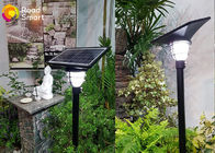 China 3.2v Outdoor Solar LED Garden Lights Wall Compound Lamp 2000 Times Charge Cycle factory