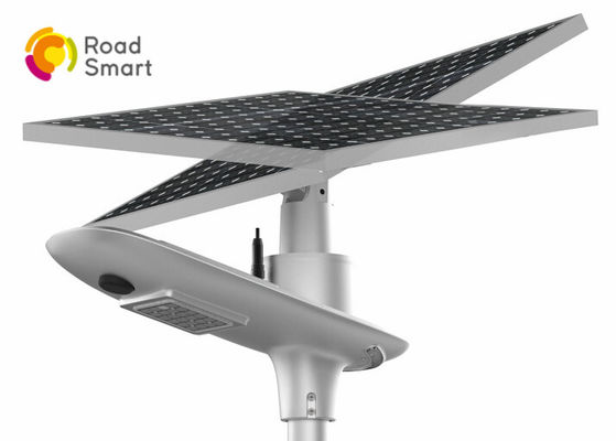 China Outdoor All In One Solar Street Light , Integrated Solar Light Bridgelux Led Chip factory