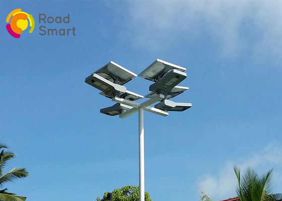 China 50W Integrated Solar Panel Led Lighting System Outdoor Lamp 3 Years Warranty distributor