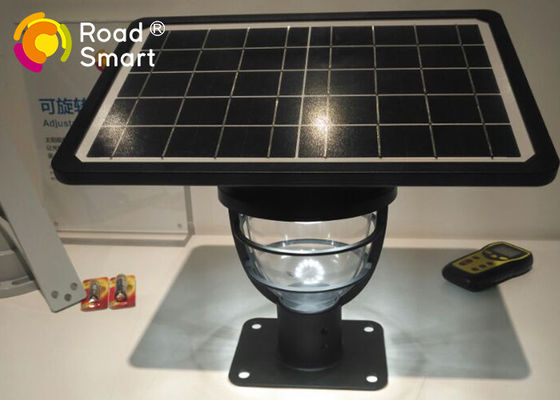 China High Brightness Solar LED Garden Lights Automatically Turn On / Off 10W / 5V factory
