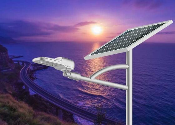 China 1700lm Solar LED Garden Lights 10W 60 LED Unique Design For Villa Park Resort distributor