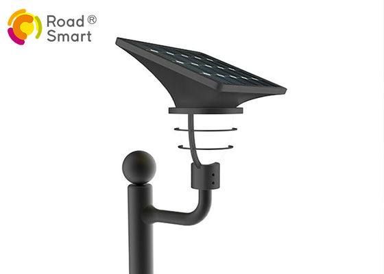 China 3000K-6500K Solar Powered Led Yard Lights Mono Crystalline Silicon 2000 Times Charge Cycle distributor