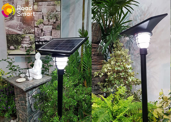 China 3.2v Outdoor Solar LED Garden Lights Wall Compound Lamp 2000 Times Charge Cycle distributor