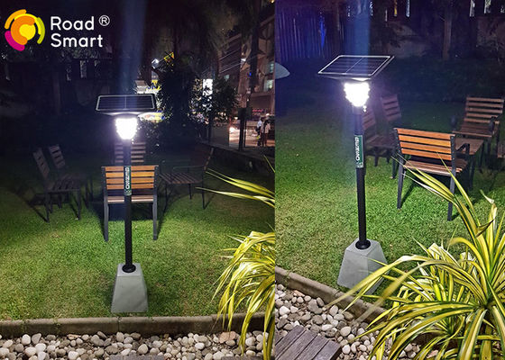 China Road Smart Solar LED Garden Lights 10 Watt 5V For Garden Yard Compound Lawn distributor