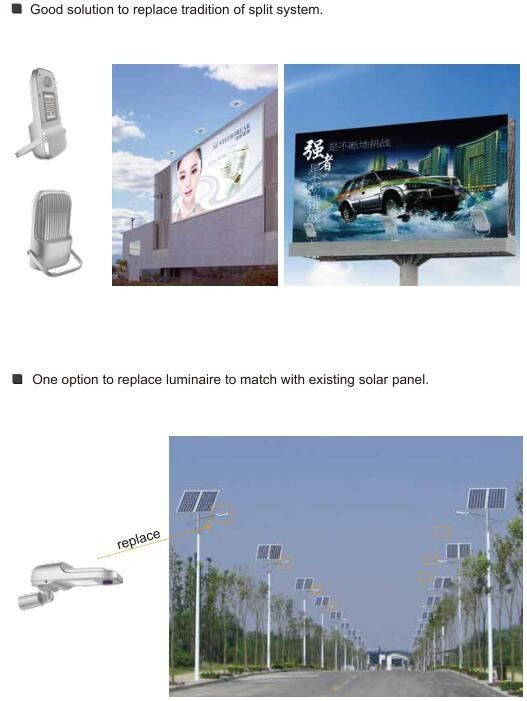 Outdoor Street Garden Solar Lighting System Multi Purpose With Angle Scale Embedded