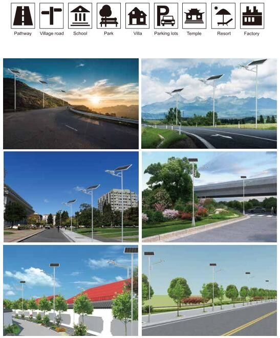 Solar Solar Yard Lights Wider Lighting Area Intelligent Motion Sensor 1700-2500lm